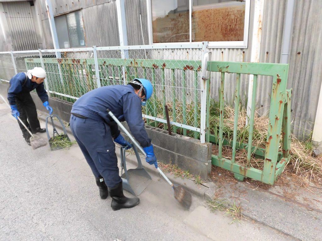 地域清掃活動!
